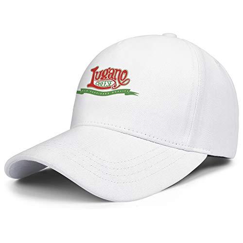 - Unisex Baseball Cap Lugano Cheese Logo Athletic Low Sun Adjustable Fits Baseball Caps