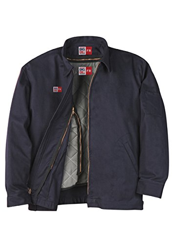 Big Bill CL348IR9/OS-NAY-3XL-T FR Work Jacket Shell, 9 oz Westex Indura Twill, Tall, 3X-Large, Navy