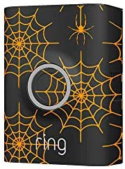 Ring Video Doorbell 2 Holiday Faceplate - Spiderweb