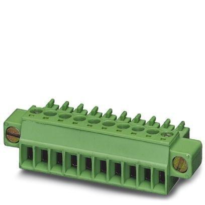 Phoenix Contact Terminal (Phoenix Contact 1847055 Conn; Term Blk; PCB; Plug; Screw; 2; 3.5mm; Front; 28-16AWG; Green; 8A; 300V; M2)