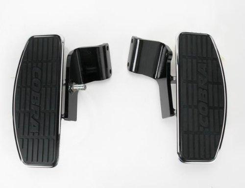Cobra Front Floorboards for 04-07 Honda VT750C Shadow Aero, 07-09 Honda (Cobra Billet Front Floorboards)