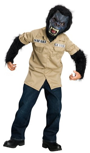 Child's Horrorland Gorilla Costume, Large