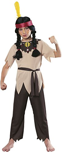 Costume Ethnic Rental (Rubies Native American Warrior Child's Costume,)