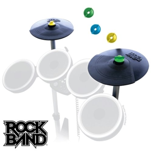 Rock Band 2 Double Cymbal Expansion Kit (One Drum Cymbals Crash)