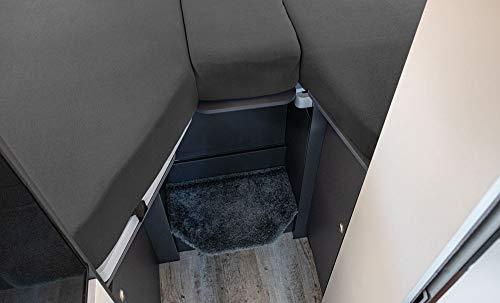 416rkEbvUrL LIVING AIR Wohnmobil Spannbetttuch Set 3 teilig - 2 Längsbetten + Mittelteil - geeignet für FIAT Ducato, Citroen Jumper…