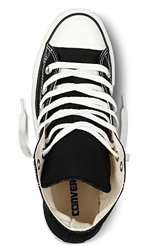 Converse Chuck Taylor All Star Classic High Top Sneakers - Black US Men 7/US Women 9 by Converse (Image #5)