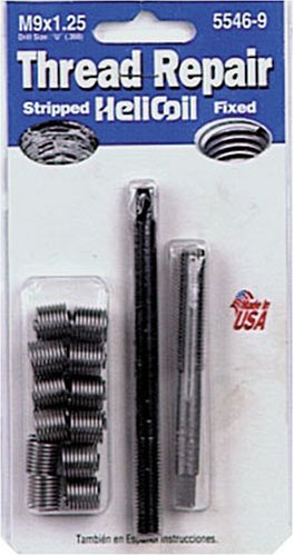 Helicoil 5546-9 M9x1.25 Metric Coarse Thread Repair Kit
