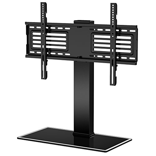 Fitueyes Universal TV Stand with Swivel mount for 32''-65''TV Height Adjustable FTT105001GB (Swivel Tv Stand With Mount compare prices)