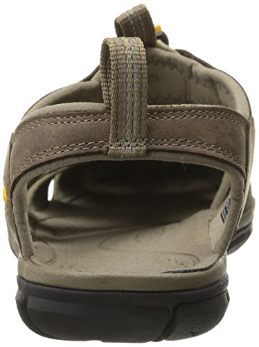 de Marron Sandales KEEN CNX Leather Randonnée Clearwater Homme BpnIWf70