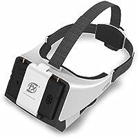 New V2.0 Version FXT Viper FPV Goggles 5.8GHz Video Glasses Support Wearing Glasses, Detachable 5inch Monitor