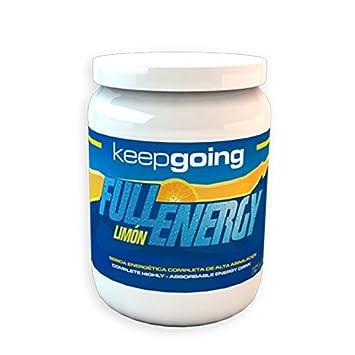 Keepgoing Full Energy Electrolyte 800 gr - Sabor - Limón: Amazon.es: Deportes y aire libre