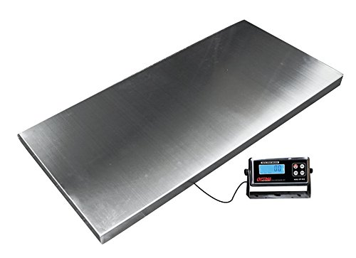 Heavy Duty 1,000 x 0.2 lb Veterinary or Industrial Freight Scale Livestock Scale ()