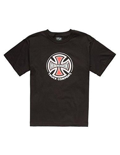 k Co Youth Short Sleeve T-Shirts,Black,Large ()