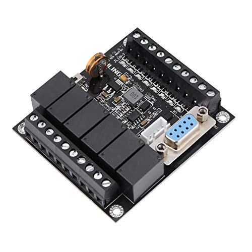 Programmable Logic Controller, PLC Industrial Board FX1N-14MR Relay Controllers ()