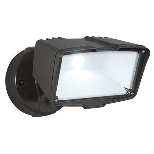 All-Pro FSL2030L, LED Floodlight, Bronze by All Pro Outdoor Security