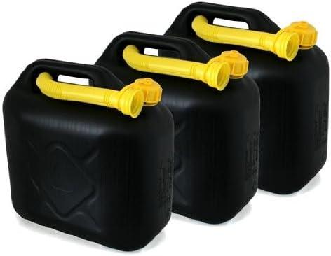 Schnorchel. 3er Set Lieferung ohne Inhalt Ausgieser Inkl AD Tuning Kunststoff Kanister Volumen: je 10 Liter