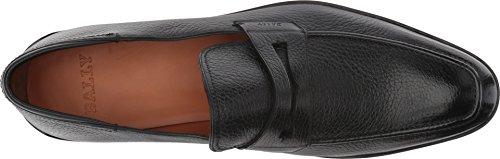 e37387badf4 BALLY Men s Relon City Penny Loafer Black 8.5 D UK - Import It All