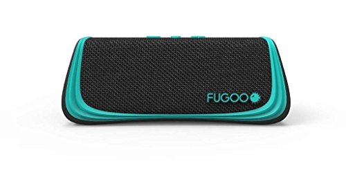 Fugoo Style Bluetooth Wireless Speaker 3 Rugged Sport model is snow proof, sand proof, and waterproof to 3 feet for 30 minutes Built-in microphone for full-duplex speakerphone, Siri, and Google Now capability Six drivers on four sides for a 360-degree sweet spot and incredible 95dB SPL-A volume
