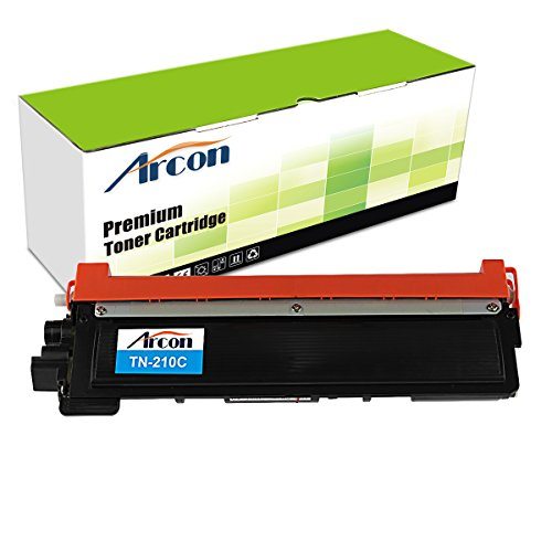 ARCON 1PK Cyan (1,400 pages) Compatible Toner Cartridge Replacement For Brother TN210C TN-210 TN210 For Printers HL-3040CN HL-3070CW HL-3045CN HL-3075CW MFC-9010CN MFC-9320CW MFC-9125CN MFC-9325CW