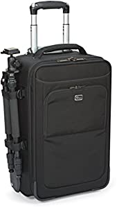 Lowepro Pro Roller x200 AW Digital SLR Camera Bag/Backpack Case with Wheels (Black) from Lowepro