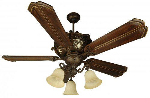Craftmade K10767 Ceiling Fan Motor with Blades Included, 52