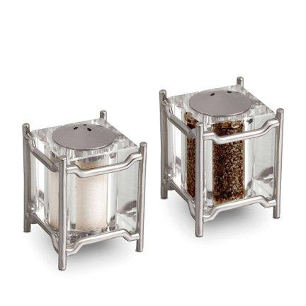 - L'Objet Han Platinum Salt & Pepper Shakers