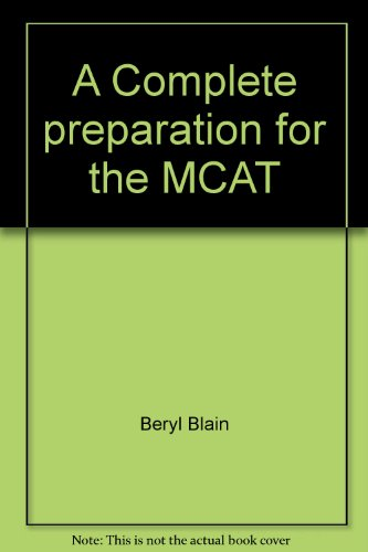 A Complete preparation for the MCAT