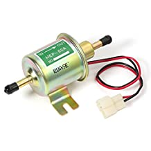 Rupse Universal 12V Low Pressure Gas Gasoline & Diesel Inline Electric Fuel Pump HEP-02A