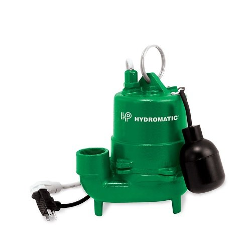 Hydromatic Submersible - Hydromatic MC1050 20 Sump Pump 1/3 and 1/2 HP Submersible Cast Iron