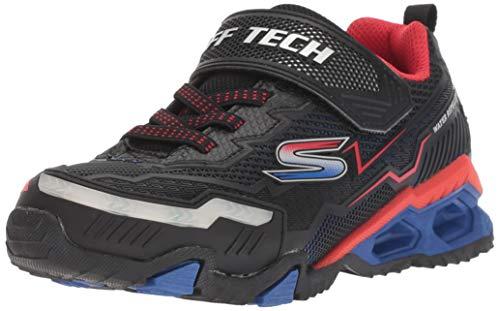 - Skechers Kids Boys' Hydro Lights Sneaker, Black/red/Blue, 2.5 Medium US Little Kid