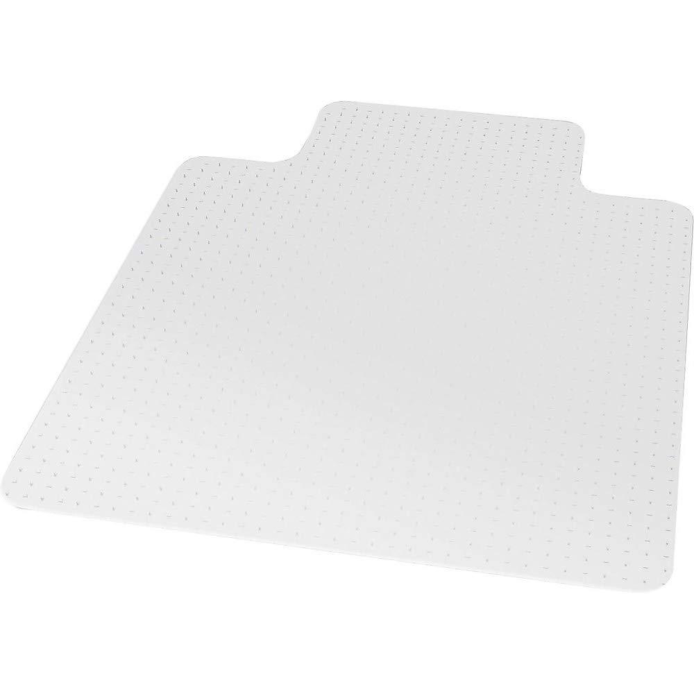 Staples 599037 45'' X 53'' Medium-Pile Carpet Chair Mat with Lip