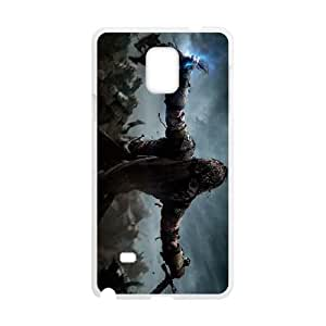 shadow of mordor Samsung Galaxy Note 4 Cell Phone Case White xlb2-134219
