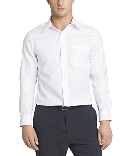 Eagle Men's Dress Shirt Slim Fit Non Iron Solid