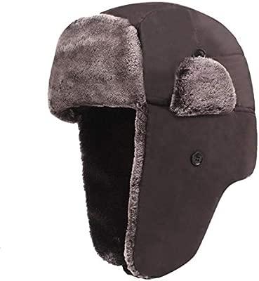 XCLWL Ushanka Sombrero De Invierno De Talla Grande Sombreros De ...
