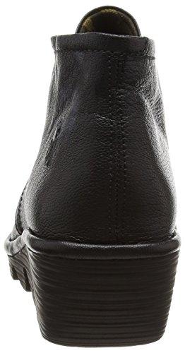 Fly London Pert - Stivali Desert Boots Donna, Nero (Black 029), 37 EU