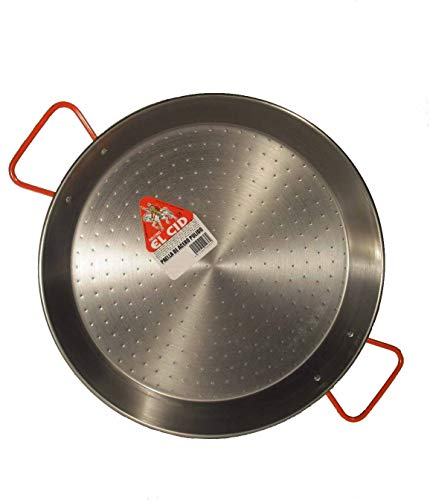 Garcima 15-Inch Carbon Steel Paella Pan, 38cm by Garcima (Image #2)