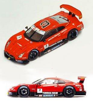 1/43 HASEMI TOMICA EBBRO GT-R 2009 Rd.1 MICHELIN #3(レッド) 「トミカエブロ HASEMI MOTOR SPORT 長谷見コレクション」 223146
