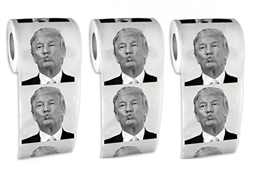 Donald Trump Toilet Paper 2 Pack