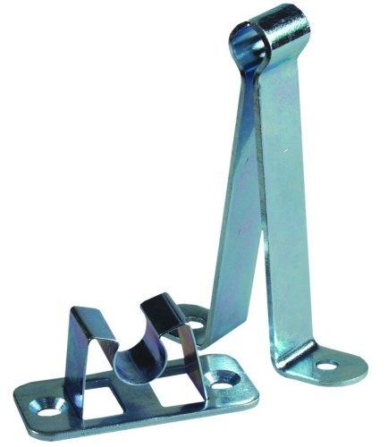 JR Products 10535 3 inch Metal/Metal C-Clip Style Door Holder