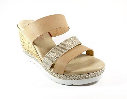 INBLU - Sandalias de vestir de Piel para mujer multicolor multicolor 35 cuero