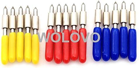 15pcs/set 30/45/60 Grado Graphtec CB15/CB15U cortador de cuchilla de corte de vinilo Plotter hoja de corte para/impresora: Amazon.es: Bricolaje y herramientas