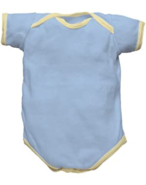 i play Origins Organic Cotton Short Sleeve Baby Bodysuit