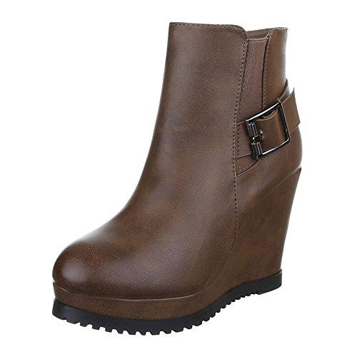 Ital-Design - botas Mujer marrón
