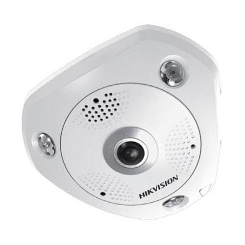 Hikvision DS-2CD6362F-IV 3072 X 2048 Network Surveillance Camera, 6 MP, White by Hikvision