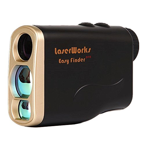 LaserWorks Hunting Rangefinder Golf Laser Range Finder 1000 Yard Hunting Rangefinders With Scan Distance, Angle, Height, Horizontal distance, Speed, Angle measurement, Shooting Monoculars.