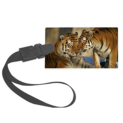 truly-teague-large-luggage-tag-nuzzling-tiger-love