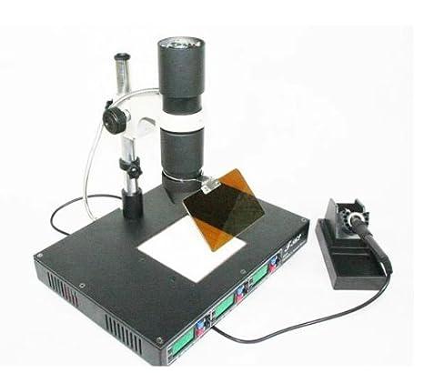 Soldador bings con infrarrojos para la estación de retrabajo SMT SMD Irda Bga T862 Máquina Nueva: Amazon.es: Electrónica