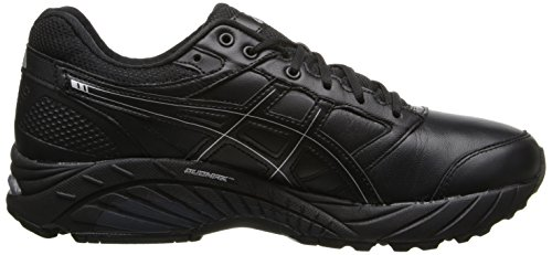 Asics Womens Gel-foundation Walker 3 Scarpa Da Corsa Nero / Onice / Argento