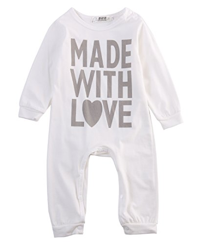 made with love newborn outfit - 2