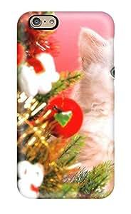 [PddhKwy4287ETBuJ] - New Cat Christmas Protective Iphone 6 Classic Hardshell Case
